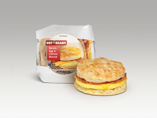 Bacon, Egg, & Cheese Biscuit